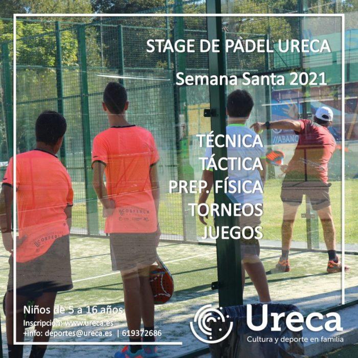 campamento stage padel Ureca