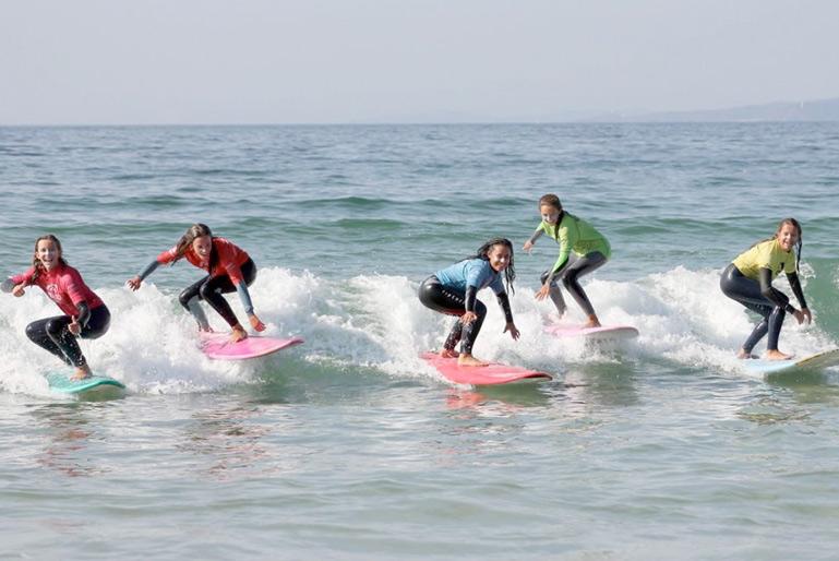 campamento surf Nigran
