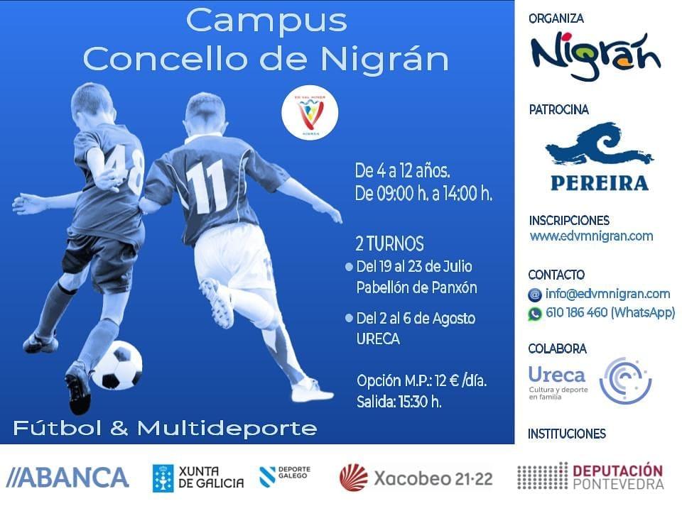 Campus Concello de Nigrán de fútbol y multideporte
