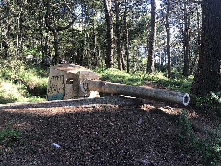 Batería de cañones de Monteferro Nigrán