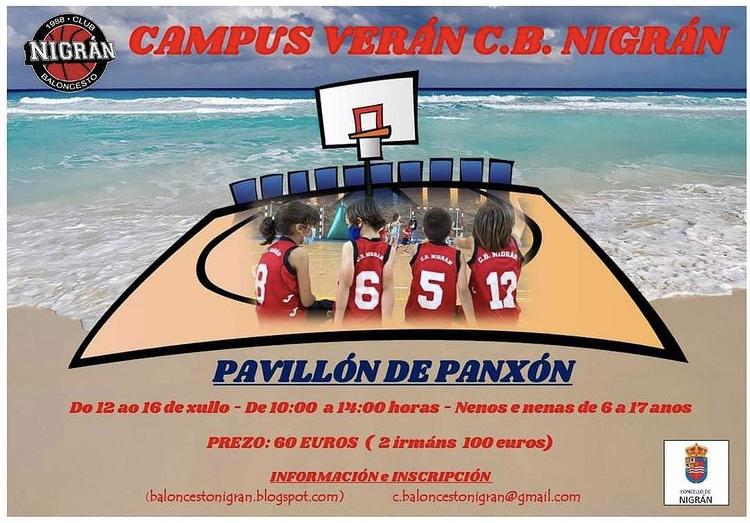 Campus de baloncesto en nigrán