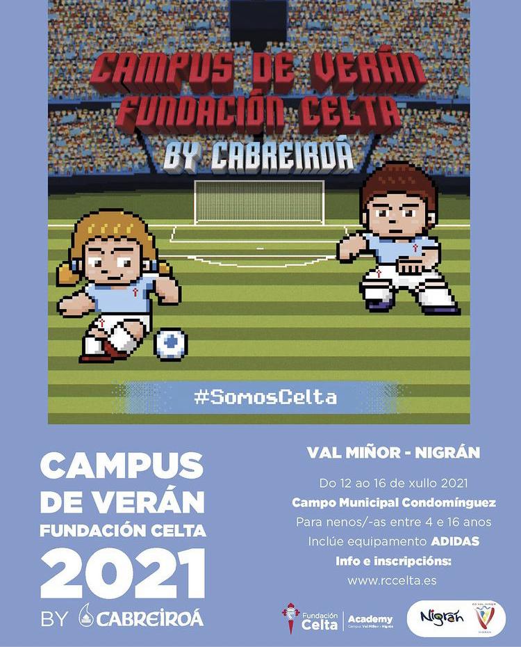 Campus de Verano fundación Celta