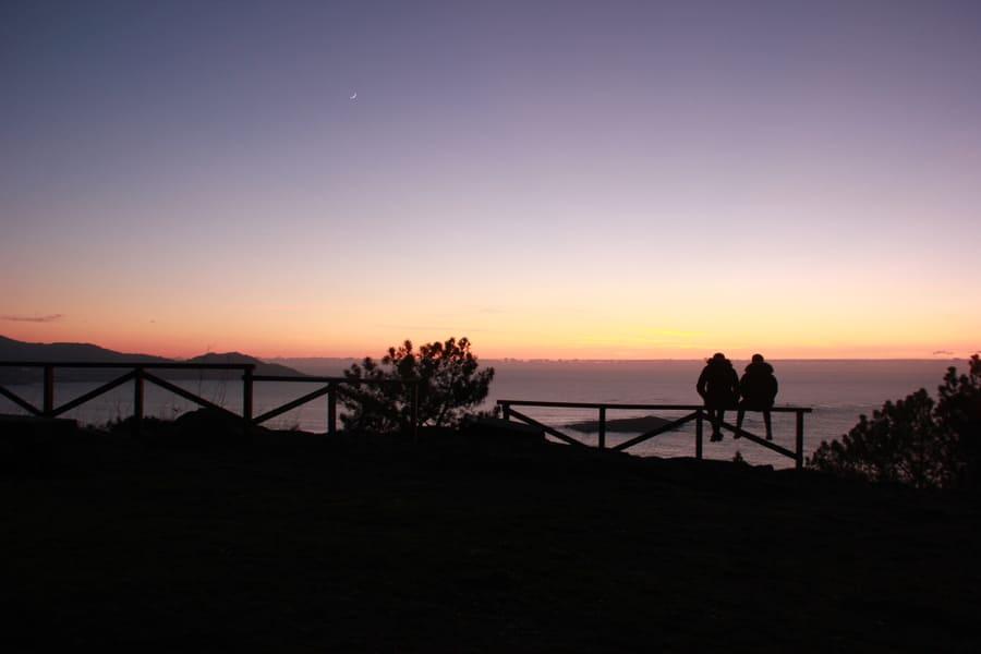 Puesta de sol desde Monteferro